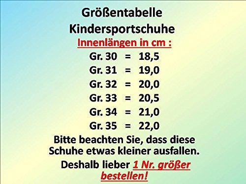 gibra - Zapatillas de sintético/textil para niño negro/blanco