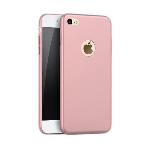 Funda iPhone 7, Carcasa iPhone 8, WindTeco Ultra Delgado Cubierta de PC Hard Caso Bumper Shock-Absorción Carcasa Protección Trasera Funda Piel Case ...