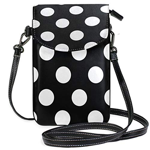 Cell Phone Purse Wallet for Women Girl Small Crossbody Purse Bags-Polka Dots