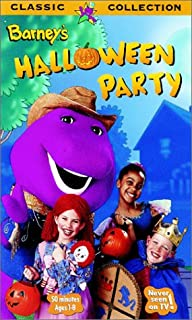 product image for Barney - Barney's Halloween Party [VHS]