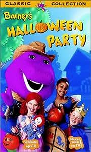 Amazon Com Barney Barney S Halloween Party Vhs