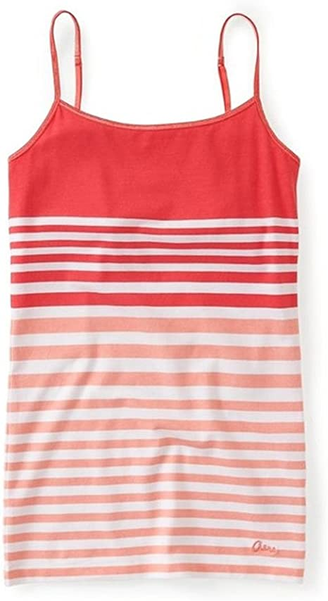 AEROPOSTALE Womens Striped Favorite Cami