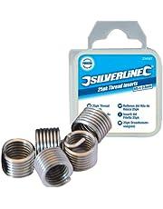 Silverline 435675 - Roscas Helicoil (M6 x 1 mm, 25 pzas)