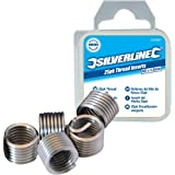 Silverline 435675 - Roscas Helicoil (M6 x 1 mm, 25 pzas)