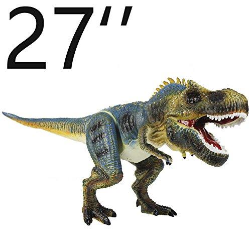 Allosaurus - iPlay, iLearn Dinosaur Action Figure Toys Hand Puppet Dinosaur Animals With Noises (27 Inches)