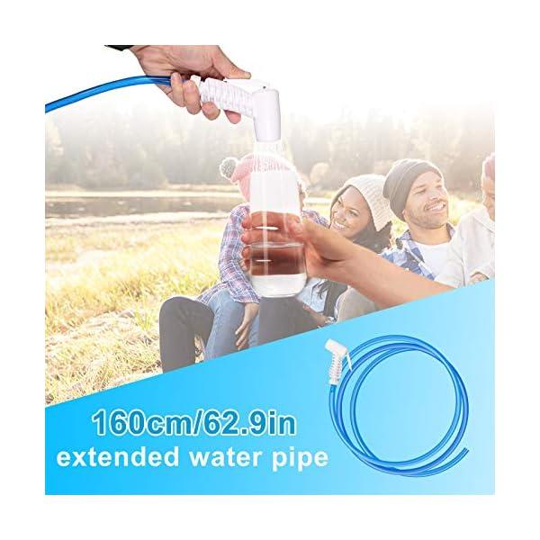 51GPKfSemaL Qdreclod Campingdusche Solardusche Tasche, 20L Tragbare Solar Gartendusche Outdoor Warmwasser Dusche Reisedusche mit…
