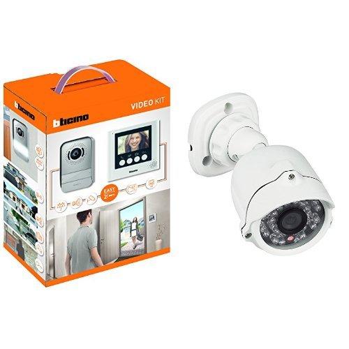 Kit Citofono Bifamiliare Bticino 2 Fili.Opinioni Per Bticino 316913 Kit Videocitofono Con 2 Fili