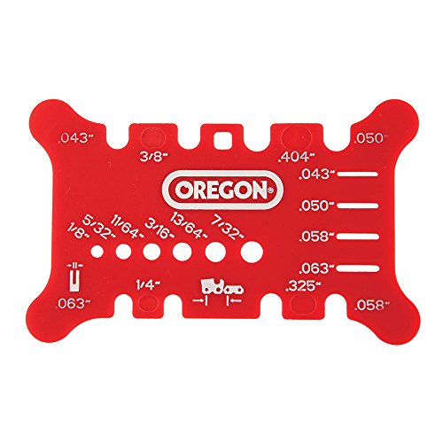 Oregon 556418 Chainsaw Guide Bar and Chain Measuring Tool - Oregon Chainsaw Tools
