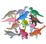 Rhode Island Novelty 3 Inch Mini Dinosaurs 12 Per Order