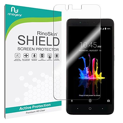 ZTE Blade Z Max Screen Protector RinoGear Premium HD Invisible Clear Shield Anti-Bubble