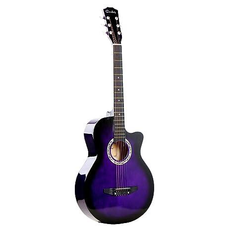 Festnight Guitarra Folk, 38 pulgadas, acústica, guitarra de 6 ...