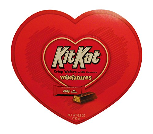 Kit Kat Miniatures Heart Box Chocolate, 6.9 Ounce