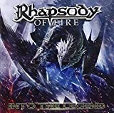 Rhapsody of fire Into the legend CD