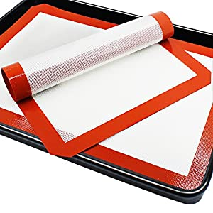 replacement for parchment paper A silpat - silicone baking pads, often referred to by the brand name, silpat, are a great replacement for parchment paper just drop one onto your baking sheet, and.