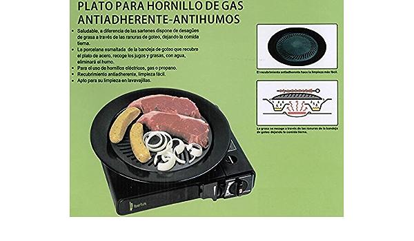 IBERLUS - Plato hornillo Gas 44003: Amazon.es: Hogar