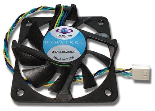 Top Motor DF127720BM 77mm x 20mm Single Flange 2 Ball Bearing 4 Pin CPU Fan NEW!