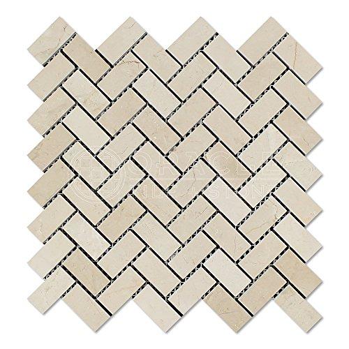 Crema Marfil Tile Flooring - 3
