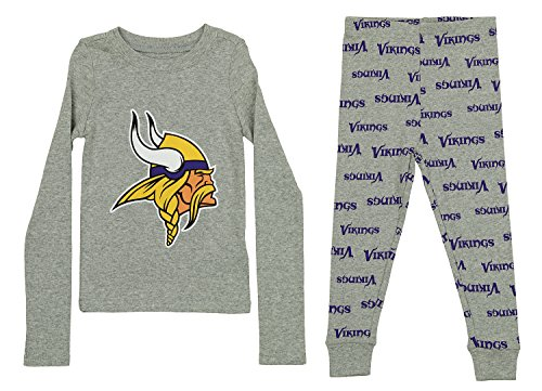 Outerstuff NFL Toddlers Pant and Long Sleeve Shirt Two-Piece Set, Minnesota Vikings, 2T ()