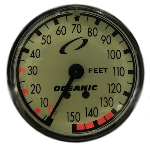 Oceanic Oil Filled Depth Scuba Diving Gauge Module