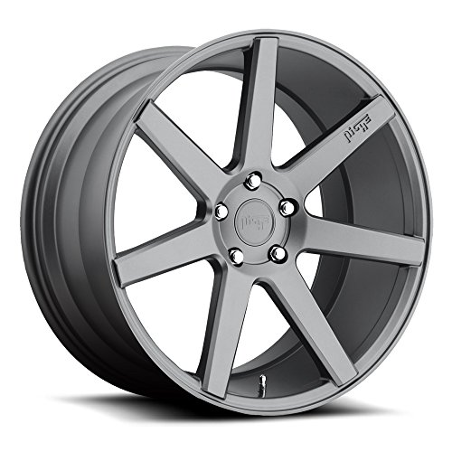 (Niche Verona 19 Gunmetal Wheel / Rim 5x4.5 with a 35mm Offset and a 72.6 Hub Bore. Partnumber M149198565+35 )