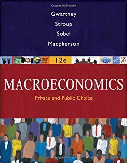Book Macroeconomics: Private and Public Choice by James D. Gwartney (2008-01-04)