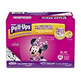 Health & Personal Care : Pull-Ups Learning Designs Potty Training Pants for Girls, 3T-4T (32-40 lb.), 66 Ct. (Packaging May Vary)