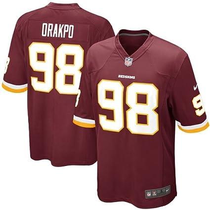 356306dd NIKE Washington Redskins Brian Orakpo #98 Big Boys Game Jersey, Burgundy