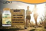 - 51GPOSEmsRL - NutraFitz Naturals B Complex Vitamins – B Vitamins Whole Food Supplement, B12 Methylcobalamin, B1, B2, B3, B5, B6, B7, B9 – For Stress, Energy and Immune Support, Vegan, 120 Capsules