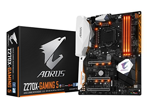 GIGABYTE AORUS GA-Z270X-Gaming 5 Gaming Motherboard LGA1151 Intel Z270 2-Way