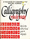 Calligraphy Made Easy, Outlet Book Company Staff and Random House Value Publishing Staff, 0517391171