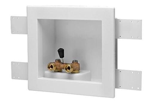Oatey 38822 sola palanca Offset lavadora Outlet Drain caja: Amazon ...