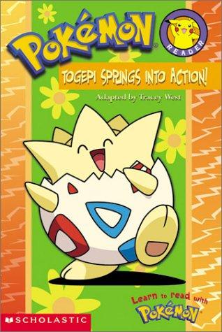 Pokemon Togepi Springs Into Action (A Pokemon Reader) PDF