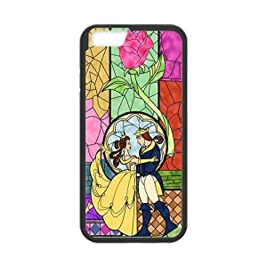 the Case Shop- Customizable Beauty and The Beast Rose Quotes iPhone 6 4.7 Inch TPU Rubber Hard Back Case Cover Skin , i6xq-266