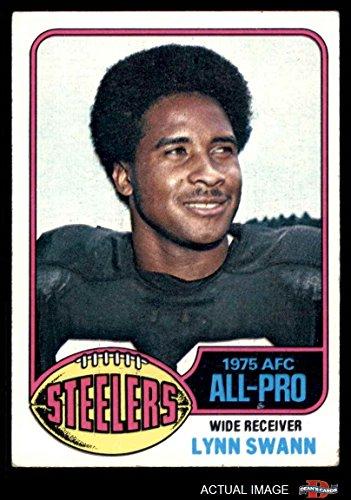 1976 Topps # 140 Lynn Swann Pittsburgh Steelers (Football Card) Dean's Cards 3 - VG Steelers (Lynn Swann Pittsburgh Steelers)