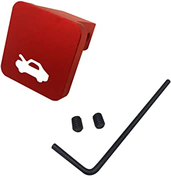 XtremeAmazing Rear Back Seat Release Strap Latch Black with Red Hook Ring Kit