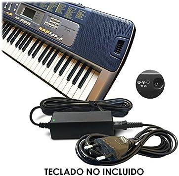 Reemplazo del Cable de Casio 9V / 9 Volt DC Adaptador Fuente de ...