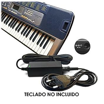 ABC Products® Reemplazo del cable de Casio 9V / 9 Volt DC Adaptador Adaptador Fuente de ...