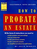 How to Probate an Estate, Julia P. Nissley, 0873374754