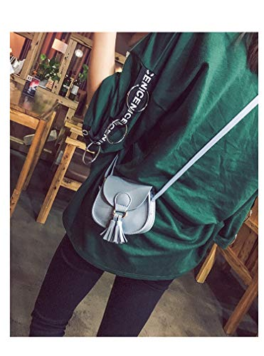 Donalworld Cute Mini Manmade Leather Coin Black Women Bag Bow Shoulder 6r5wnqrS