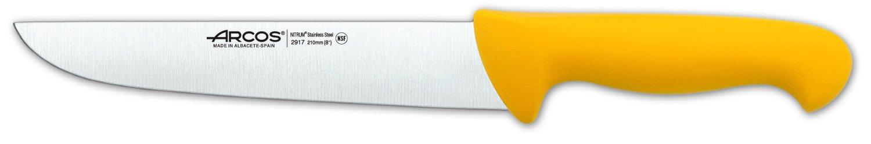 Arcos 2900 Range 8-Inch Butcher Knife, Yellow