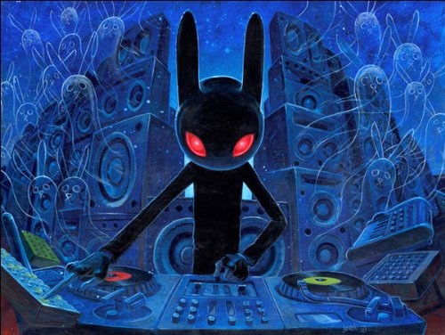 DJ BlackRabbit by Eyes On Walls
