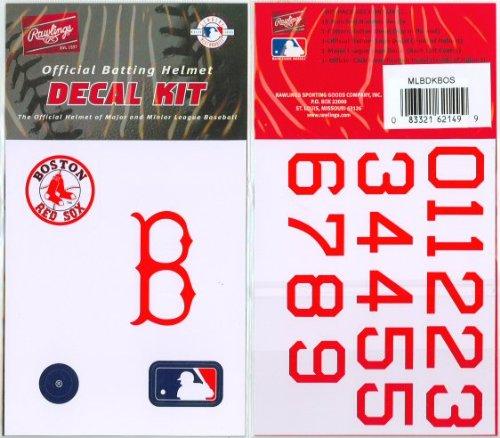 MLB BATTING HELMET DECALS - Import It All