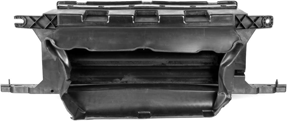 DNA MOTORING ZTL-Y-0158 Front Lower Radiator Grille Air Control Shutter Replacement for 15-17 Ford F-150