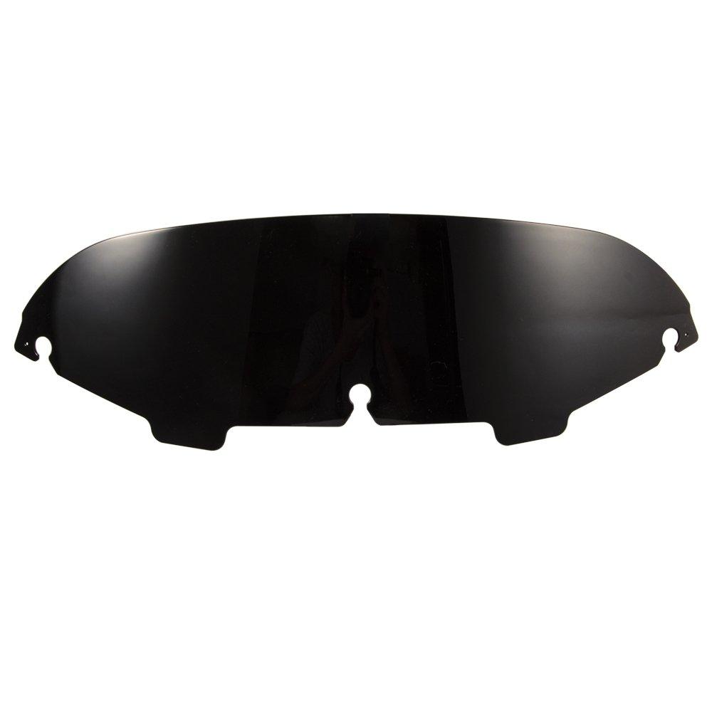 Black 5'' Round Windshield Windscreen for Harley Ultra Classic Electra Glide FLHTCU 1996 1997 2007 2008 2009 2010 2011 2012 2013
