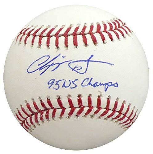 Chipper Jones Autographed Signed Memorabilia Official MLB Baseball Atlanta Braves 95 Ws Champs - PSA/DNA -