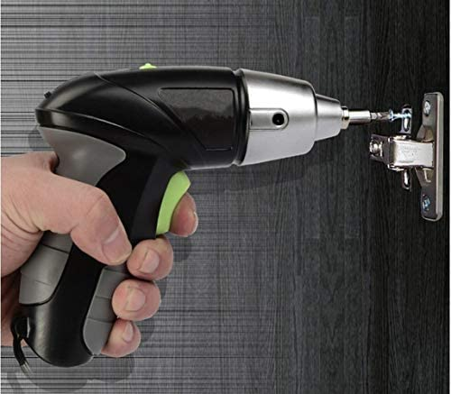 Cheniess 3.6v Electric Drill Mini Electric Screwdriver Rechargeable Hand Drill Home Drilling Power Tools for Home Improvement DIY Project