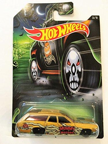 Hot Wheels 2017 Happy Halloween '71 Plymouth Satellite Wagon Skull Wheels 3/8 -