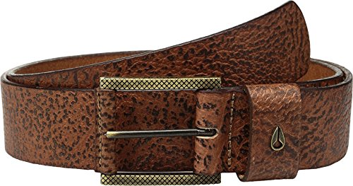 Nixon Men's Americana Belt Ii, Brown, (Nixon Embossed Belt)