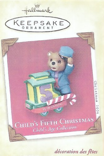 Hallmark Keepsake Ornament - Child's Fifth Christmas 2004 ()