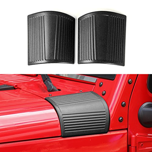 New ABS Cowl Body Armor for Jeep Wrangler Rubicon Sahara JK & Unlimited (Body Armor Hood)